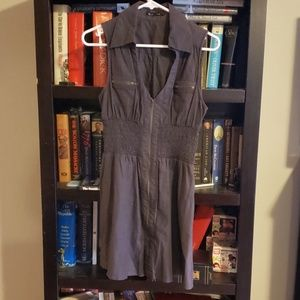 Mustard Seed Zip Front Dress Size M